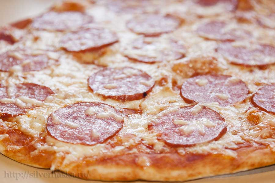 Тесто для пиццы классический рецепт с фото
