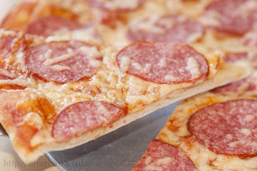 классический рецепт итальянской пиццы на тонком тесте