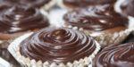 Шоколадные кексы с шоколадным кремом