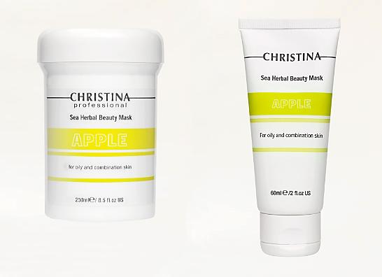 Отзыв о <b>Яблочной маске</b> от <b>Christina</b> Sea Herbal <b>Beauty</b> Mask Apple